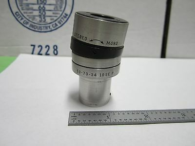 Microscope Part Eyepiece Bausch Lomb Stereo 53-70-34 Optics Bin#q4-R-29