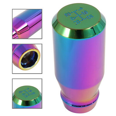 Car Manual Shifter Knob 5 Speed Gear Stick Aluminium Alloy 82mm Colorful DIY NEW