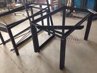 Mild steel table base