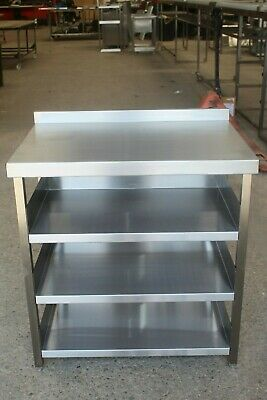 600mm Bar Shelving Station, Modular Stainless Steel Bar Shelving Unit