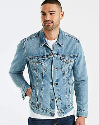 aeaee8ba LEVIS X SUPREME Denim Trucker Jacket Size L - £230.00 | PicClick UK