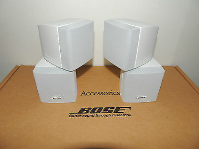 """Bose® LIFESTYLE® Double Cube Speakers x2 in """"Top Condition"""" Genuine Bose Made ++"""