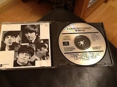 The Beatles . A Hard Days Night C.d. Album . Incorrect Printed Booklet And Inlay