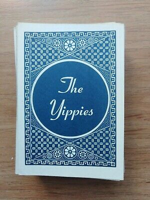 The Yippies, Vintage playing cards, USA, b/w photo,rare!