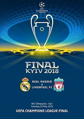 Programme Pirate Final Champions League 2017 2018 C1 Real Madrid Liverpool