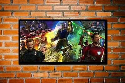 HD Canvas Print Picture Painting  Wall Art Decor Avengers Infinity War 24x48inch