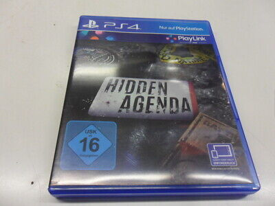 PlayStation 4 PS 4   Hidden Agenda