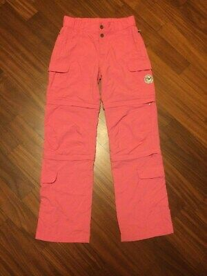 SALEWA - Pantaloni Ragazze/ Girl's Zip Off Pants Travel Hiking Outdoor Touring