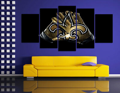 HD Printed Sports Oil Painting Home Wall Decor Art On Canvas New Orleans Saints