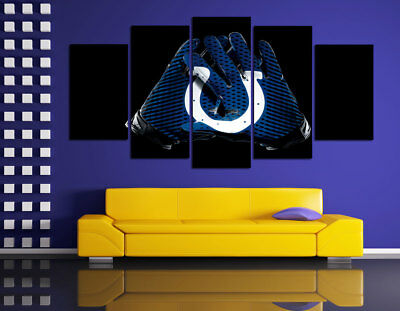 HD Printed Sports Oil Painting Home Wall Decor Art On Canvas Indianapolis Colts