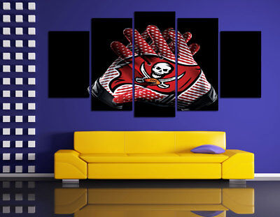 HD Printed Sports Oil Painting Home Wall Decor Art On Canvas Tampa Bay Buccaneer
