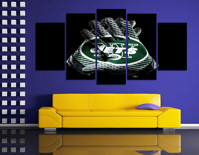HD Printed Sports Oil Painting Home Wall Decor Art On Canvas New York Jets
