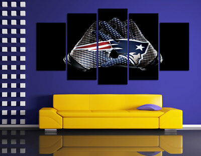 HD Printed Sports Oil Painting Home Wall Decor Art On Canvas New England Patriot