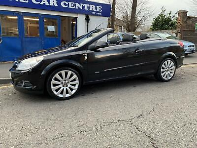 Vauxhall Astra 1.8 Twin Top Design * 2007 ** Cabriolet Convertible ** Leather *