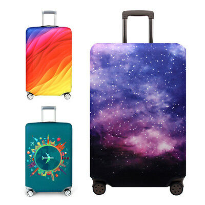 """18""""-32"""" Protective Luggage Suitcase Dust Cover Protector Elastic Anti Scratch"""