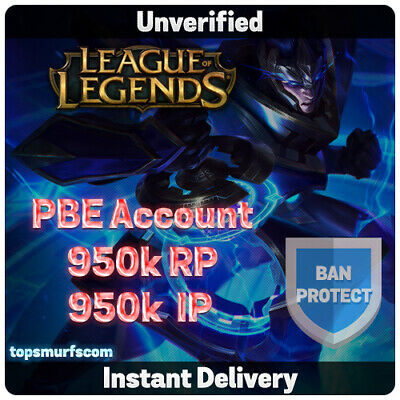 PBE Account   League of Legends Unranked 30 Level - LoL - NA   EUW   EUNE TR OCE