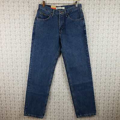 Mens Lee Relaxed Fit Denim Jeans Pants Size 31x32 NWT Tapered Leg