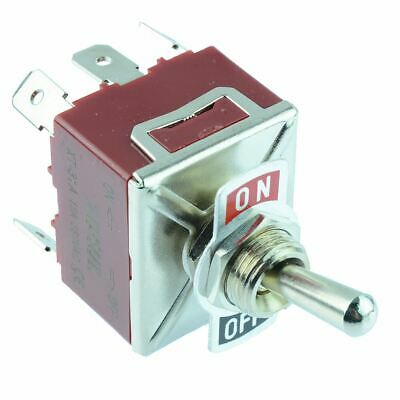 On-Off 3PST Toggle Switch 250V AC 15A 3 Pole