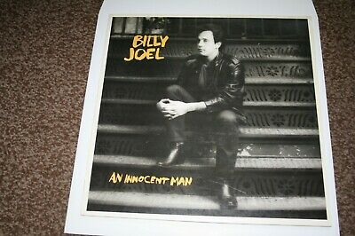 "Billy Joel ""An Innocent Man"" Vinyl LP NrMint Condition (play tested)"