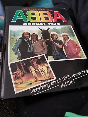 The Abba Annual 1979 X EXCELLENT CONDITION FOR AGE X 1635 X