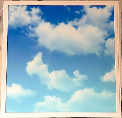 40W SKY LED Ceiling Panel Cloud Scene Recessed Panel Light 600 x 600mm Size