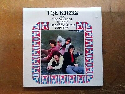 The Kinks Village Green preservation society Cd album mini LP style sleeve rare