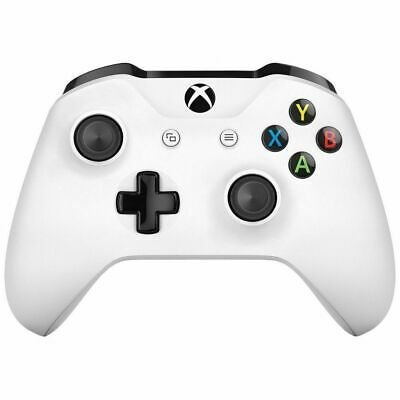 Official Microsoft Xbox One Wireless White Controller 3.5Mm Jack - New