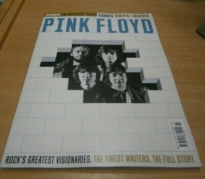 Collector's Series magazine Mojo 6: Pink Floyd Echoes 1974-2019 The Full Story