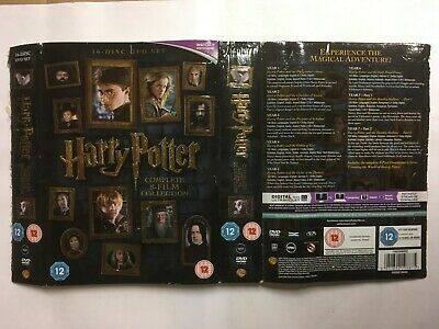 Harry Potter: Complete 8-film Collection Years 1-7 DVD G Damaged Packaging C11