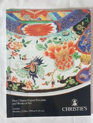 Christies Catalogue Chinese Export Porcelain & Works Of Art Lon May 95