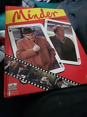 The Minder Annual 1986 X EXCELLENT CONDITION FOR AGE XX  VERY RARE X 1373 XX