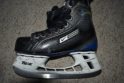 BAUER SUPREME ONE35 ICE HOCKEY SKATES NEARLY NEW MENS Skate SIZE