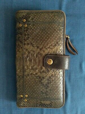 ffce45beed GUCCI PORTEFEUILLE CUIR python neuf avec boîte / New Gucci snake ...