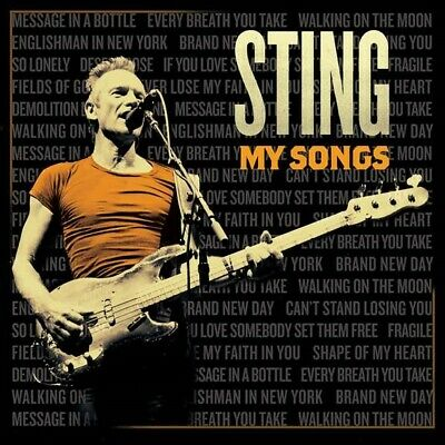 Sting - My Songs Deluxe Cd New Mint Pre-Order 24.5.2019