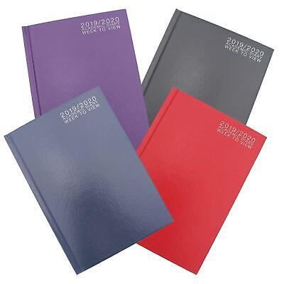 2019-2020 Academic Student Mid-year Diary - Week to View - A5 - Choose Colour