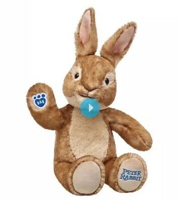 Build A Bear Workshop Peter Rabbit Bear Brand New With Tags & Gift Box