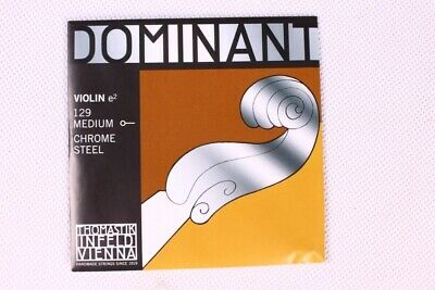 Medium Violin Strings Thomastik Dominant 135 Full Set G D A E Strings Accessory