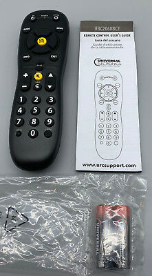 TIME WARNER URC2068BC1 RF Universal Replacement Remote