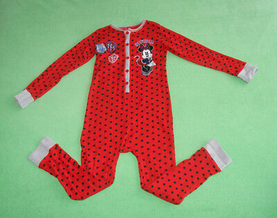 Disney red with doots playsuit sleepsuit pijamas for girl age 7-8 years 128cm