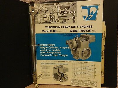 Wisconsin Heavy Duty Industrial Engines General Specs. Gas, Diesel Models Manual