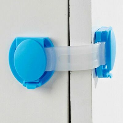 Baby Security Lock Plastic Safety Door Protection Drawer Clothes Bucket Cabinet