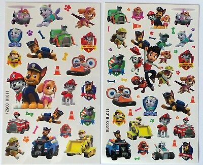 Paw Patrol Einmal Tattoos Tempory Tattoos Haut
