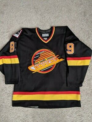 7770b62c727 Vancouver Canucks AUTHENTIC Mogilny #89 jersey size 48/XL NHL hockey  Russian CCM