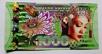 Niederlande East Indies (Indonesia), 1000 Gulden, 2016 Polymer, UNC