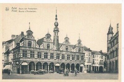 CPA - Belgique - Aalst - Alost - Bourse d'Amsterdam