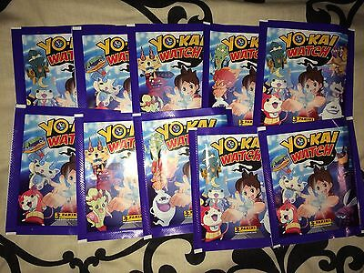 100 Packets Packs of Yo-Kai Watch Stickers Panini Party Bag Filler