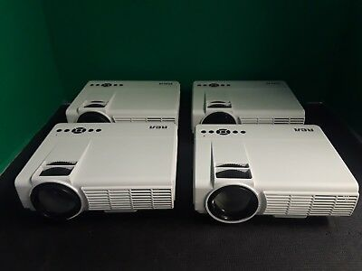 LOT OF 4 RCA 2000 Lumens Home Theater Projector - 150