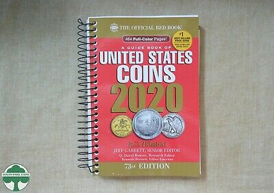 NEW 2020 SPIRAL REDBOOK - OFFICIAL PRICE GUIDE FOR U.S. COINS - 73rd EDITION