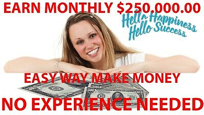 Earn Monthly $250.000.00 Using Internet No Experience Needed ****