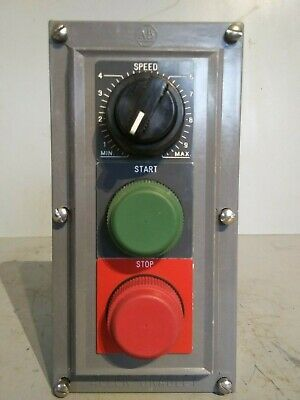 Allen-Bradley Start Stop Pushbutton with Speed Dial, 800H-UR35